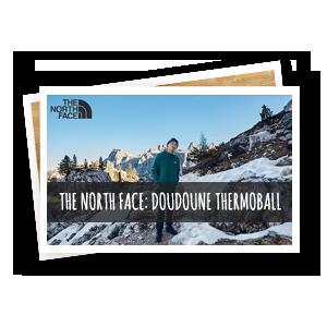 the north face : découvrez les doudounes thermoball