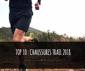 top 10 des chaussures de trail 2018