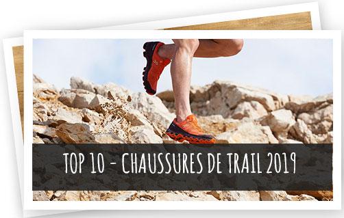 top 10 des chaussures de trail 2019