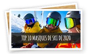Top 10 des masques de ski