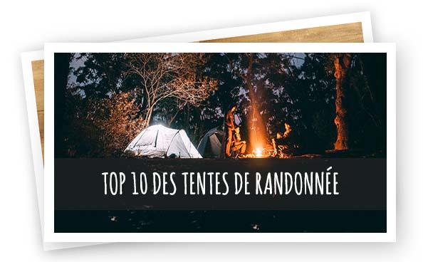 Suggestions Article Top 10 tentes de rando