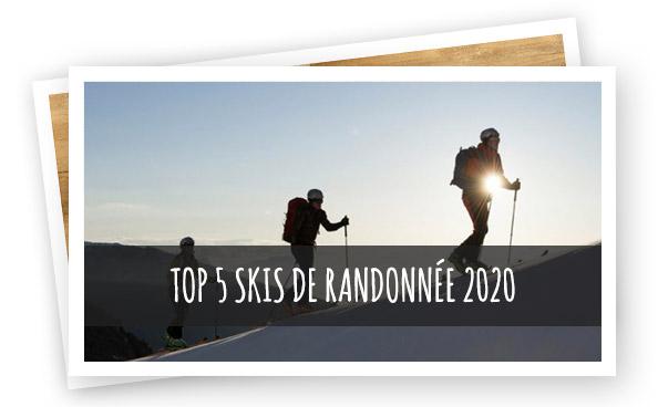 Les meilleurs skis de randonnée 2020