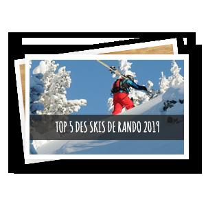 top 5 skis de randonnée