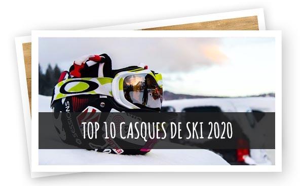 Article Top 10 Casques de ski