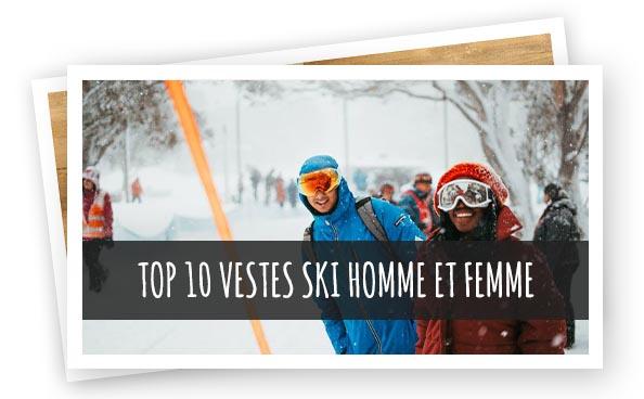 Article Top 10 vestes ski Homme Femme