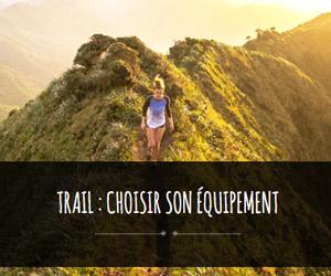 trail équipement
