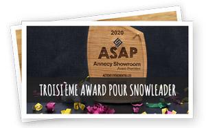 Vignette Renvoi Troisième Award Pour Snowleader