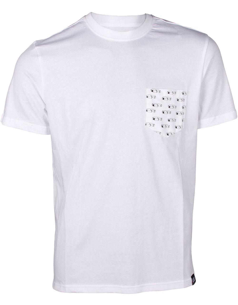 T shirt Snowleader Rebloch' Pocket
