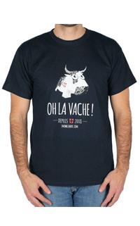 Tshirt OH la vache Snowleader