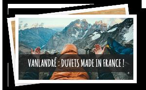 Valandré duvets made in France