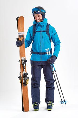 Veste de protection Vaude ski