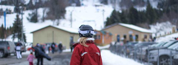 Visuel ambiance casque de ski