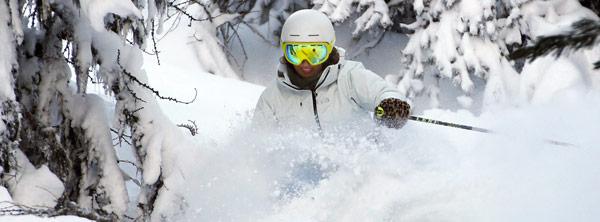 Visuel ambiance masque de ski action
