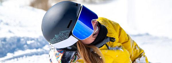 Visuel ambiance masque ski