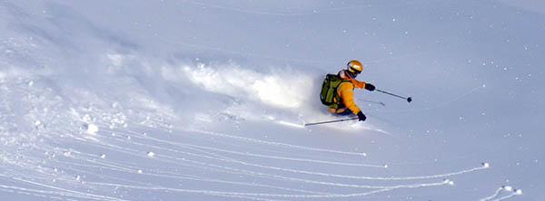 Visuel Ambiance Ski freeride