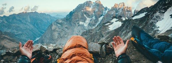 Bivouac haute montagne