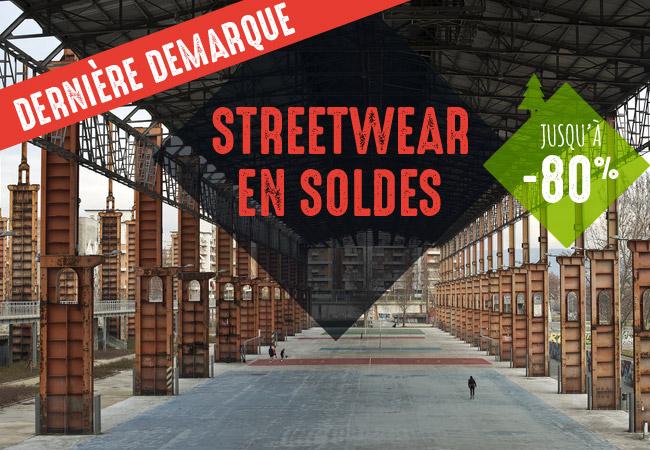 3ème démarque des soldes sur le streetwear