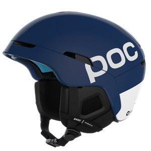 Visuel Casque POC OBEX BC Spin Lead Blue