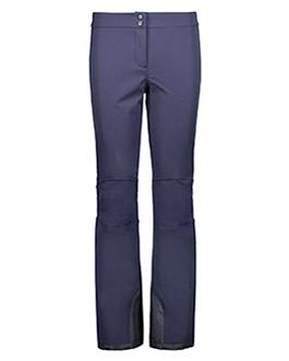 Visuel Woman Pant With Inner Gaiter Black Blue CMP