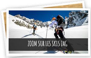 Zoom sur les skis ZAG blog Snowleader