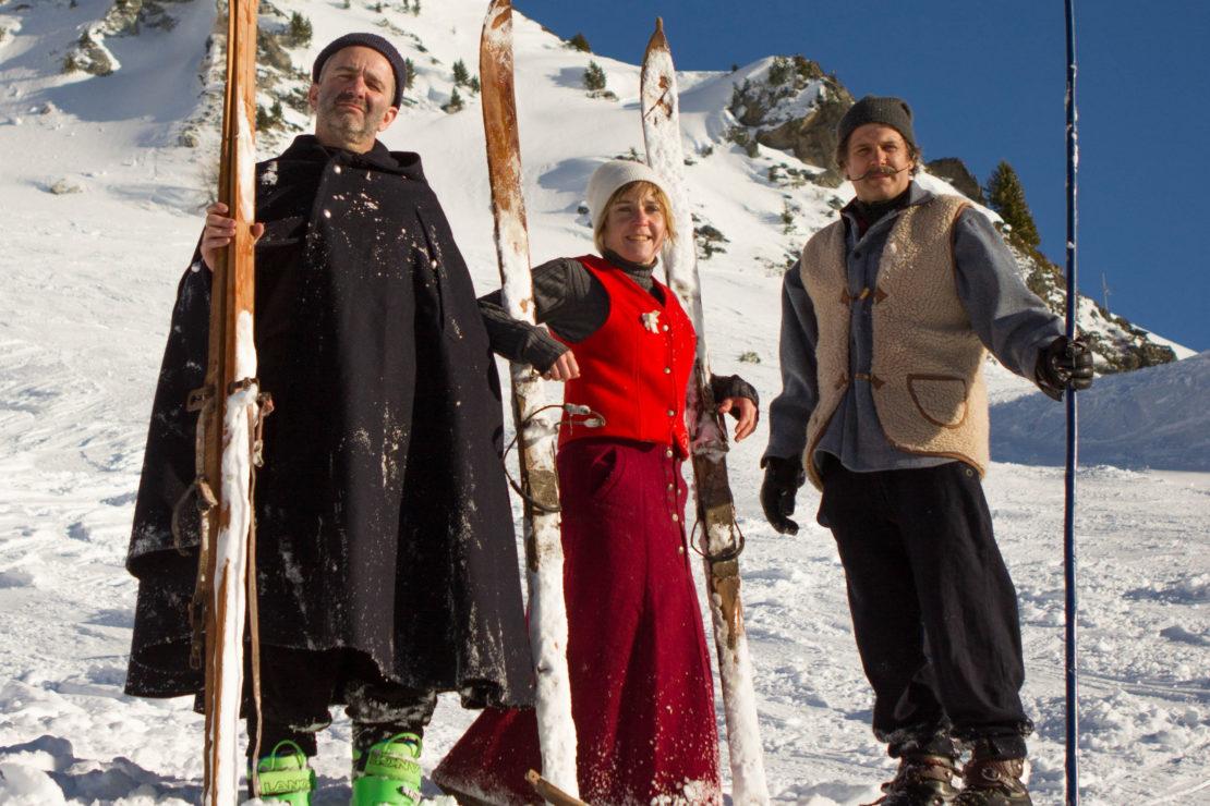 L'Histoire du ski à la sauce Rancho !